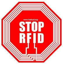 Logo of anti RFID campaign by German privacy group FoeBuD